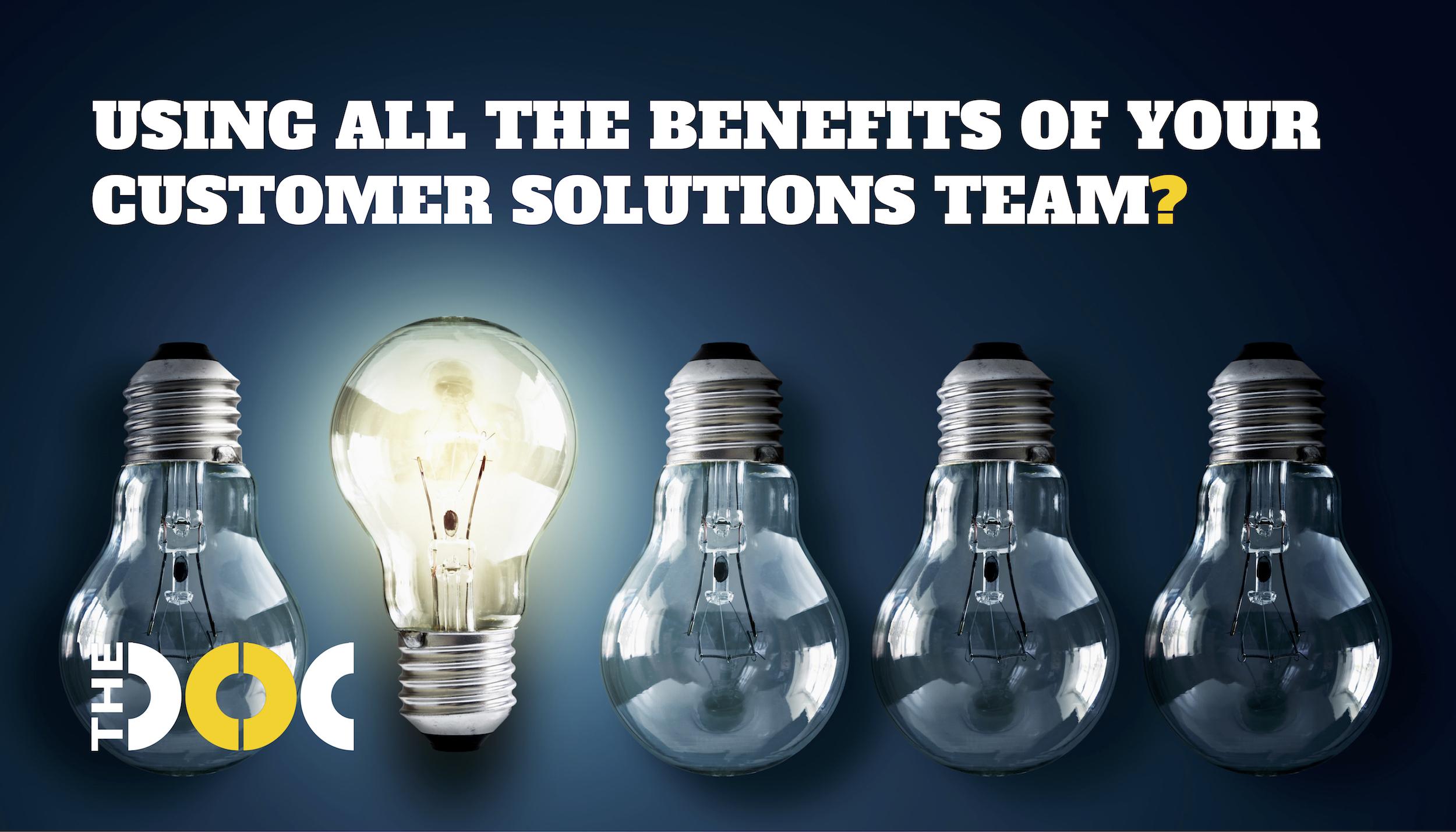 Customer Solutions Team